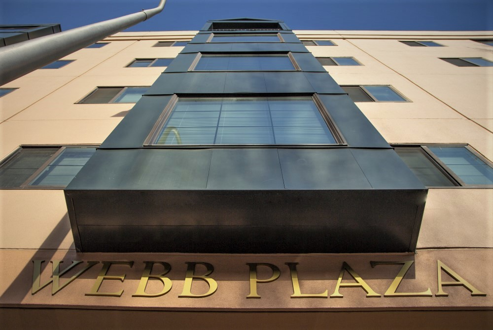 Webb Plaza marquee