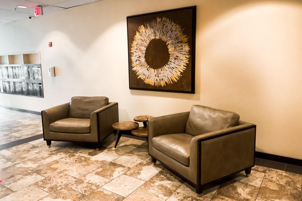 Webb Plaza lobby